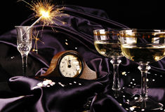 Countdown to New Year Stock Image
