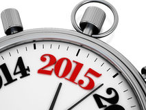 Countdown to new year 2015 Royalty Free Stock Image