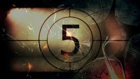 Countdown-Video vektor abbildung