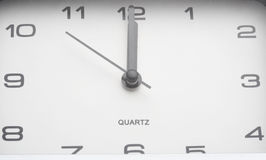 Countdown by watch close up Stock Images