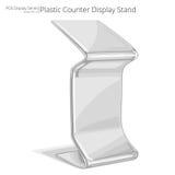 Counter Display Stand. Stock Photos
