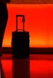 counter hotellbagagenatt royaltyfria foton