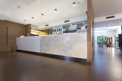 Counter in a modern restaurant interior Stock Photography