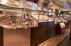 counter pizzeria royaltyfri fotografi