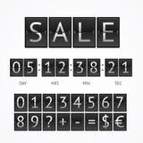 Counter Seasonal Sale Concept. Vector Stock Photos