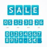 Counter Seasonal Sale Concept. Vector Royalty Free Stock Photos