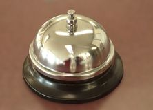 Counter Service Bell. Close up Royalty Free Stock Photography