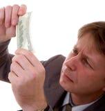 Counterfeit bill Royalty Free Stock Photo