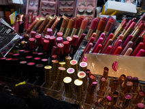 Counterfeit Make-Up At A Local Market Royalty Free Stock Image