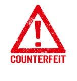 Counterfeit Stock Image