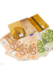 Counterfeiter forges euro Stock Photos