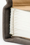 Counterfoil books closeup Royalty Free Stock Image