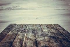 Countertop που αγνοεί τη χειμερινή λίμνη στοκ φωτογραφίες με δικαίωμα ελεύθερης χρήσης