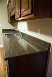 Countertop van de keuken Stock Afbeeldingen