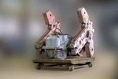 Counterweights Oil rocking. Royalty Free Stock Photo