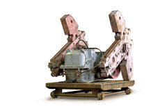 Counterweights Oil rocking. Royalty Free Stock Photography