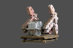 Counterweights Oil rocking. Royalty Free Stock Images