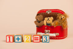 Counting bears Stock Images