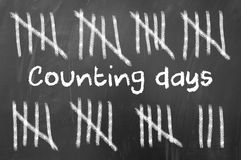 Counting days Stock Photos