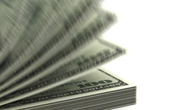 Counting Dollars Royalty Free Stock Images