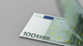 Counting Euro Stock Photography