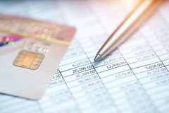 Counting and finance concept Stock Photo