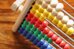 Free Counting On An Abacus Stock Image - 13345601