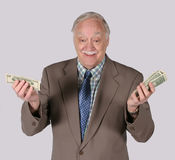 Counting Out His Money Royalty Free Stock Photography