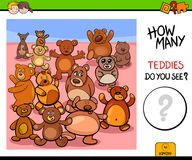 Free Counting Teddy Bears Educational Game Royalty Free Stock Image - 119422846