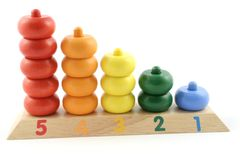 Counting Toy Stock Photo