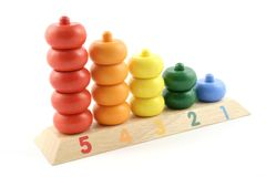 Counting Toy Royalty Free Stock Photos