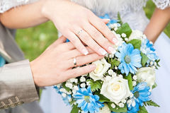 countour夫妇图画递藏品铅笔婚礼 免版税库存照片