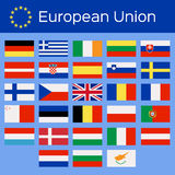 Countries of the European Union Royalty Free Stock Photography