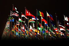 Free Countries Flags In Shanghai World Expo Stock Image - 15213411