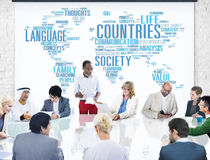 Countries Nation Society Territory International Concept.  Stock Images