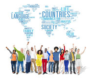 Countries Nation Society Territory International Concept Royalty Free Stock Image