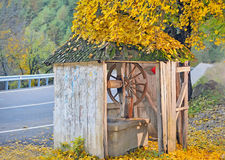 Countrry Old Well Royalty Free Stock Photos
