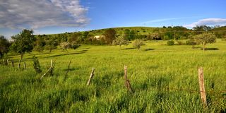 Country. A piece of country in middle Slovakia stock image