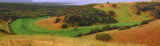 Country. View in Sardinia, near Sassari Royalty Free Stock Photography