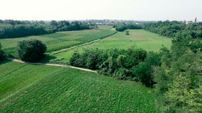 Country from Above stock video footage