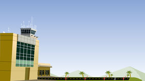 Country Air Port Stock Photography
