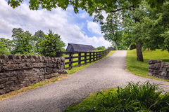 Country alley Royalty Free Stock Image