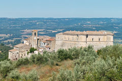 The country of alviano, terni Royalty Free Stock Image