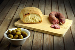 Country appetizer Royalty Free Stock Photo