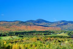 Country autumn landscape Stock Photography