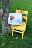 Country Baby Royalty Free Stock Photography