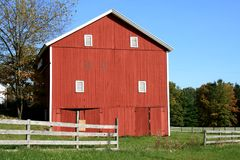 Country Barn Stock Photo