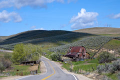 Free Country Barn And Road Stock Photos - 24546093
