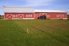 Country barn and storage shed. Stock Images