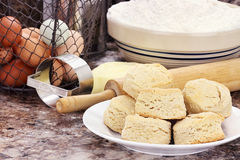 Country Biscuits Royalty Free Stock Image